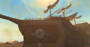 Расположение карты подземелья песчаного корабля в Legend of Zelda: Skyward Sword HD