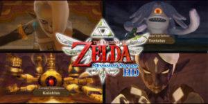 The Legend of Zelda: Skyward Sword — Все боссы