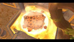 The Legend Of Zelda: Skyward Sword HD — Прохождение подземелья огненного святилища