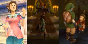 Zelda: Skyward Sword Graveyard Puzzle Batreaux Гайд