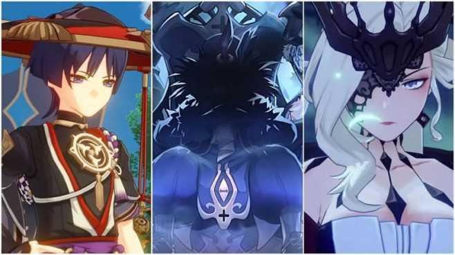 "Царица в ""Genshin Impact"" и ее 11 предвестников фатуи"