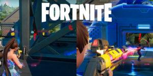 Fortnite: как выявить противника с помощью разведывательного сканера, а затем поразить его из рельсового орудия