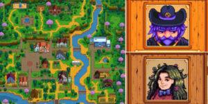 Stardew Valley: где на карте находится каждый NPC