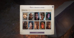 Как уважать персонажей в Pathfinder: Wrath of the Righteous