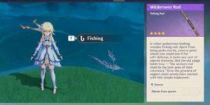 Genshin Impact 2.1: как ловить рыбу