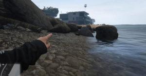 Где найти место кораблекрушения в GTA Online