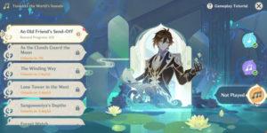 Genshin Impact: как играть на цветочной цитре